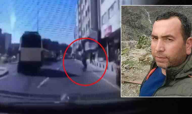 İstanbul'da feci ölüm kamerada