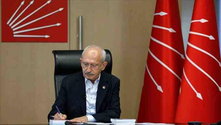 Kılıçdaroğlu:CHP'nin en önemli görevireformları hayata geçirmektir
