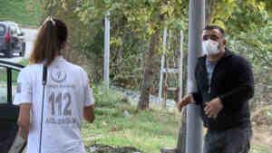 Koronavirüslü şoför, yaşlıları bakım evine götürürken yakalandı
