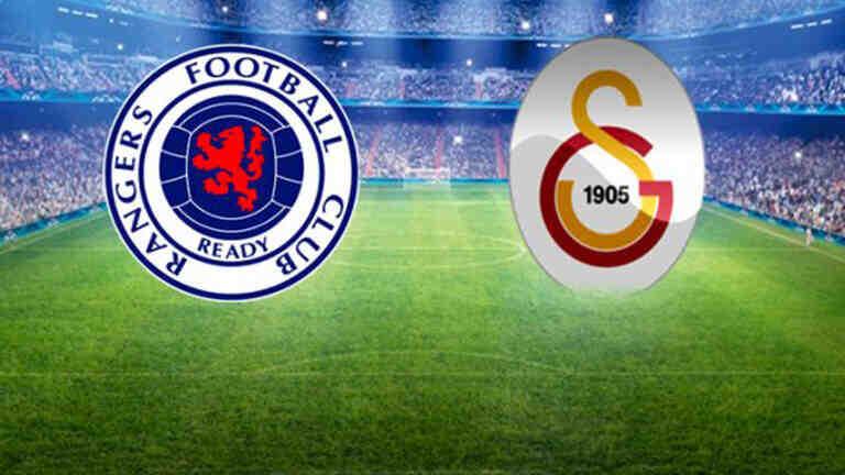 UEFA Avrupa Ligi Play-Off Turu   Rangers Galatasaray