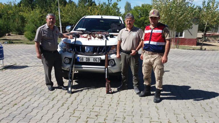 Kahramanmaraş'ta kaçak keklik avına ceza yağdı