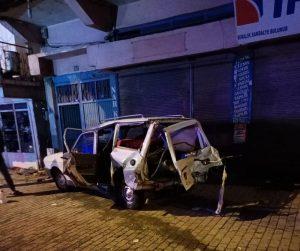 Kahramanmaraş'ta kaza 2 kişi yaralandı