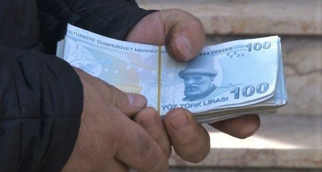 Kahramanmaraş'ta bulanan para sahibine teslim edildi