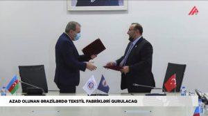 Kardeş Azerbaycan'a TÜMKİAD'dan Yatırım