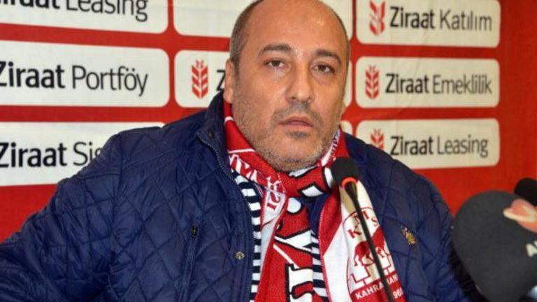 Kahramanmaraşspor Başkanı Fatih Ceyhan istifa etti