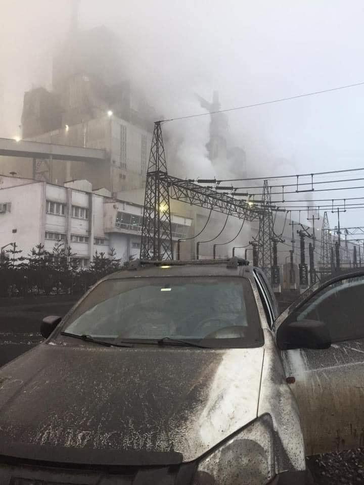 Ali Öztunç, kirliliğin fotoğrafını paylaştı