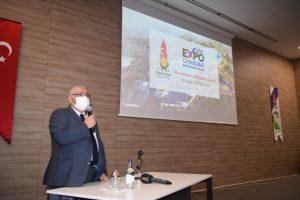 Şehre yeni bir ufuk getirecek EXPO'yu Başkan Mahçiçek anlattı