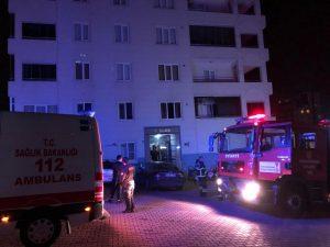 Kahramanmaraş'ta buzdolabı evi yaktı