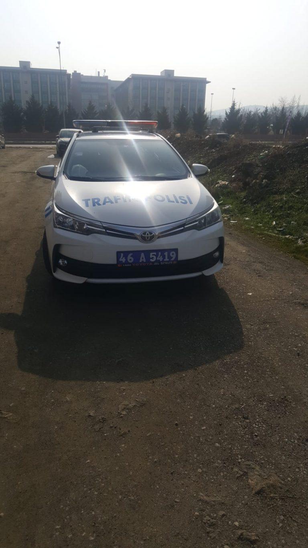 Kahramanmaraş'ta o zanlıyı trafik ekipleri yakaladı