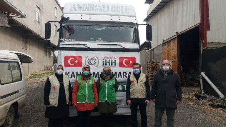 İHH'dan İdlib'e insanı yardım sevkiyatı