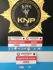Kahramanmaraş'ta uyuşturucudan 15 kişi tutuklandı