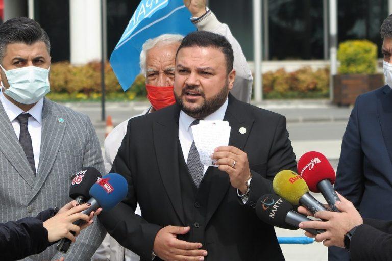 İYİ Parti Kahramanmaraş İl Başkanından  belediye işçilerine grev çağrısı