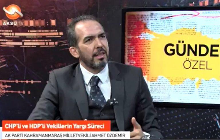 Ahmet Özdemir gündemi değerlendirdi