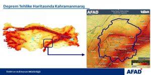 AFAD Kahramanmaraş'ı uyardı