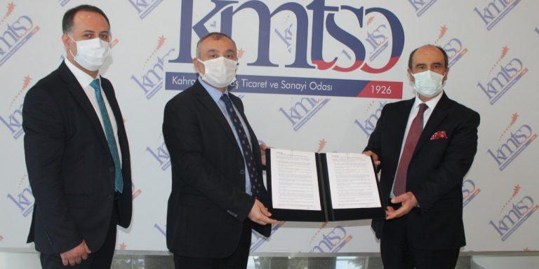 KMTSO ve Şekerbank, oda üyeleri için anlaşma yaptı