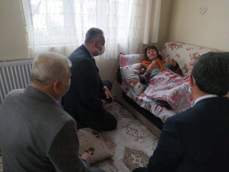 O hizmet Kahramanmaraşlı 97 yaşındaki ninenin ayağına geldi