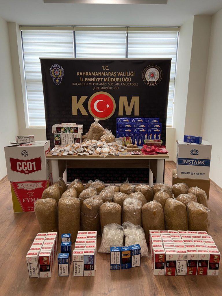 Kahramanmaraş'ta  cinsel gücü artırıcı ilaç operasyonu!