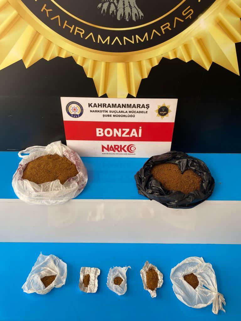 Kahramanmaraş'ta uyuşturucu operasyonu: 3 tutuklama!