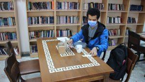 Büyükşehir'den kütüphane üyelerine bardak