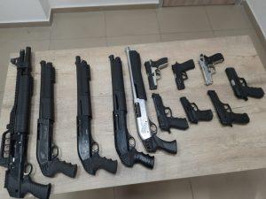 Kahramanmaraş'ta Şubat ayında 54 maganda'dan 62 silah ele geçirildi