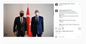 Özdemir, Adalet Bakanı ile görüştü