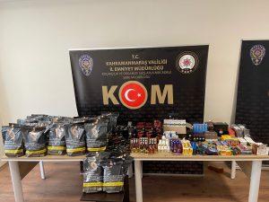 Kahramanmaraş'ta 50 bin TL değerinde cinsel hap ele geçirildi