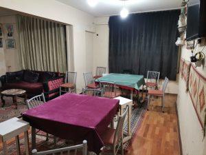 Kahramanmaraş'ta apartman dairesini kahvehaneye çevirmişler
