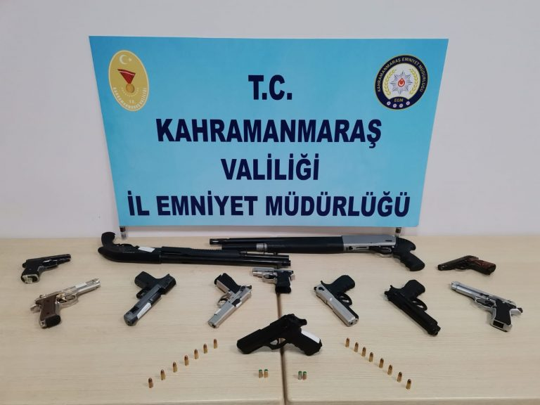 Kahramanmaraş'ta 17 Magandaya Suçüstü!