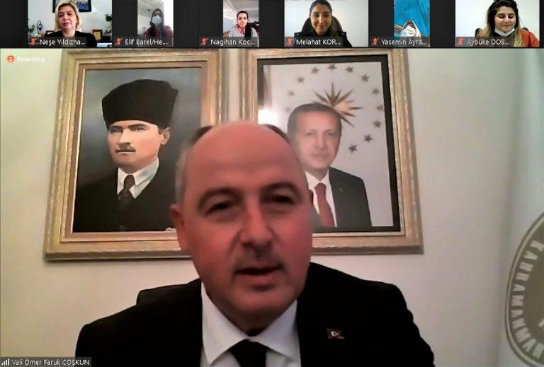 Kahramanmaraş Valisi'nden çok ince jest