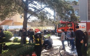 Kahramanmaraş'ta kumaş fabrikasındaki yangın korkuttu