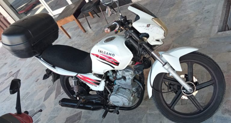 Yeni aldığı motosikletini ilk taksitini ödeyemeden çaldırdı