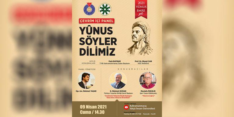 Kahramanmaraş'ta Yûnus Emre ve Türkçe Yılı Etkinliği Düzenlenecek