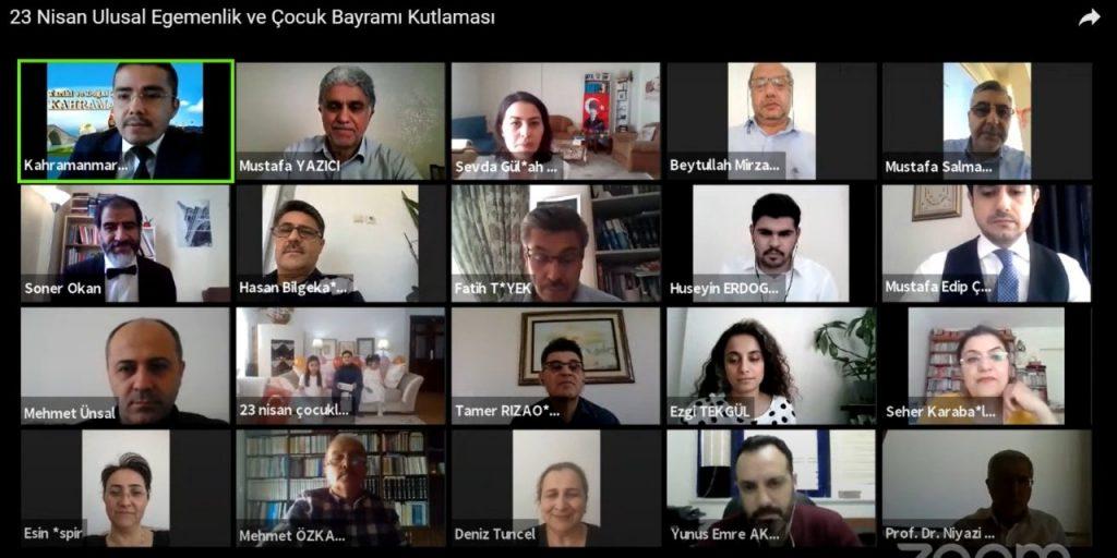 KSÜ 23 Nisan'ı Çevrimiçi Etkinlikle Kutladı