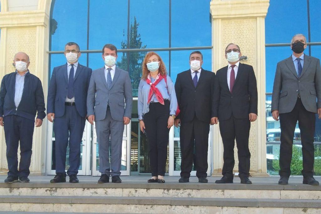 FAO Türkiye Temsilci Yardımcısı Selışık Kahramanmaraş'taki Projeleri İnceledi