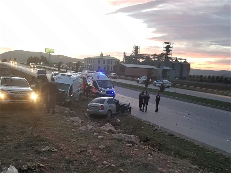 SON DAKİKA: Kahramanmaraş'ta korkunç kaza!