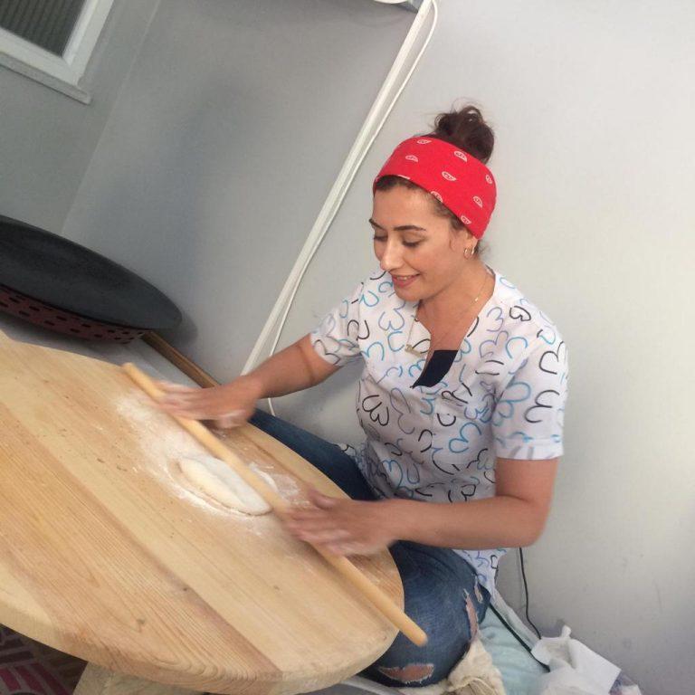 Kahramanmaraş'ta işletmeci o kadın siparişlerini instagramdan alıyor