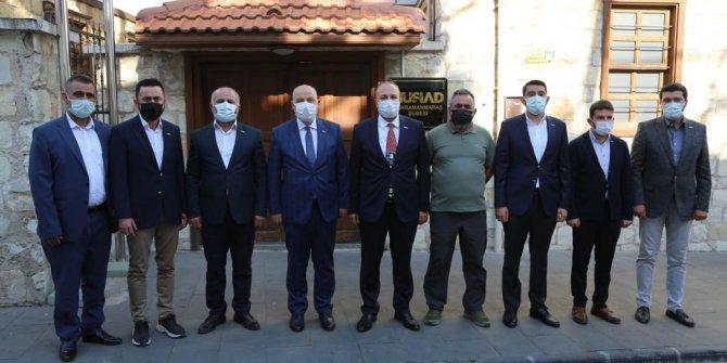 Vali Coşkun'dan MÜSİAD Şube Başkanlığına Ziyaret
