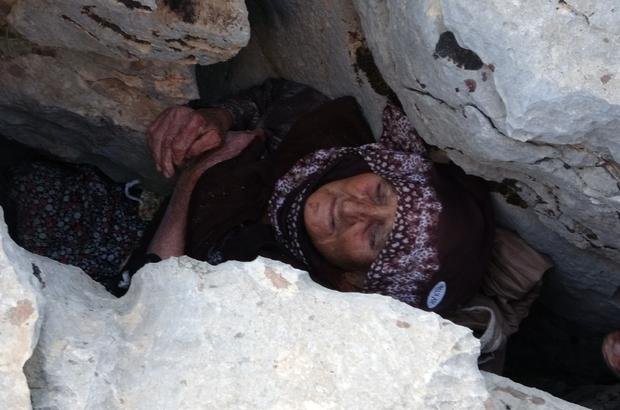 Sıkıştığı Yerde 3 Gün Mahsur Kalan Yaşlı Kadından Kötü Haber!