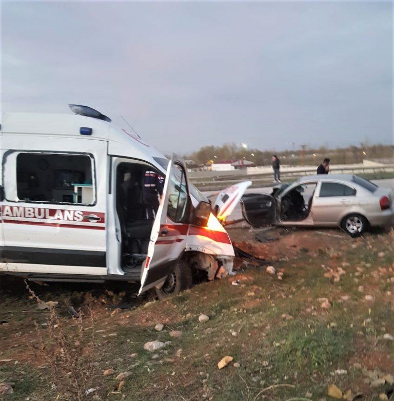 Kahramanmaraş'ta feci kaza: 3 ölü 3 yaralı