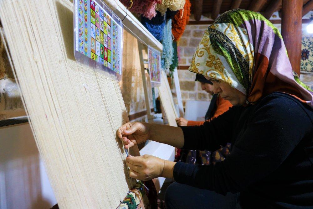 Kahramanmaraş'ta 15Bin Yıllık Tarih Halıya Dokunuyor