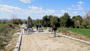 Andırın'a 6 Bin Metrekare Parke Yol