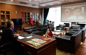 Başkan Güngör'den Çevrimiçi Kutlama
