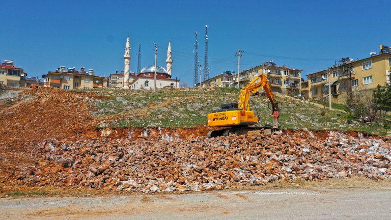 Büyükşehir Göksun'a Yeni itfaiye Binası Kazandırıyor