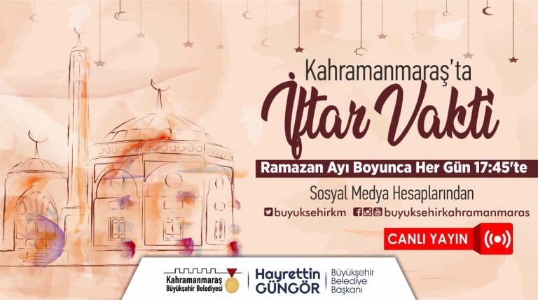 Kahramanmaraş'ta Ramazan Sevinci