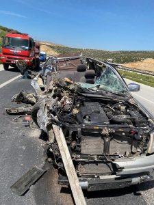 Kahramanmaraş'ta Korkunç Kaza: 1 ölü 2 yaralı