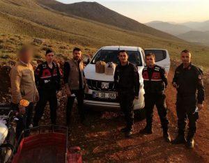 DKMP Ekipleri Kurak Avı Yapan 2 Kişiyi Yakaladı