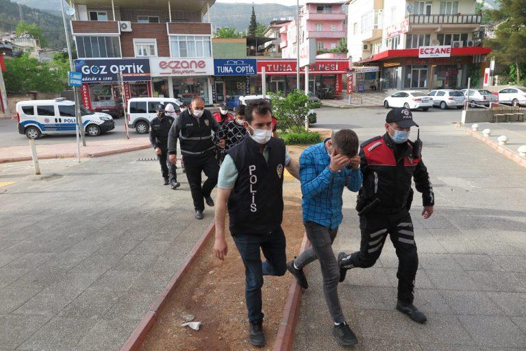 Kahramanmaraş'ta Hırsızlık Çetesi Yakalandı!
