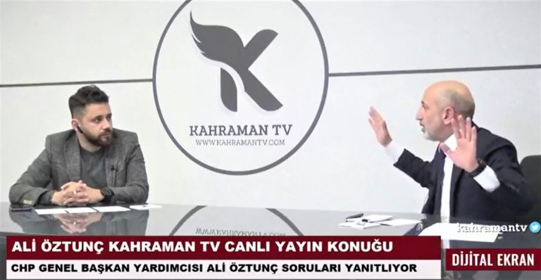 """CHP'li Öztunç, """"En geç 2022 yılının Mart ayında seçim var"""""""