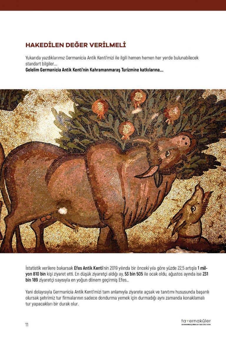 Germanicia'nın Sırrı Tavernaküler Bülten Yeni Sayısında