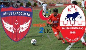 Kahramanmaraşspor, Niğde Anadolu FK Karşılaşması Yarın 15:00'te